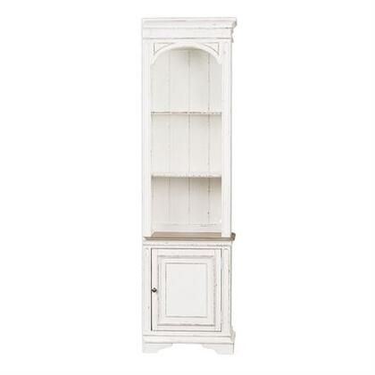 Liberty Furniture Magnolia Manor 244ER00 Bookcase White, Main Image