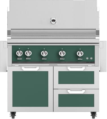 Hestan  851784 Natural Gas Grill Green, Main Image