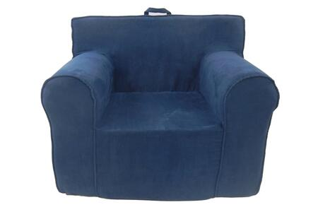 Fun Furnishings The Ultimate Kids Chair 61234 Kids Chair, Navy Blue