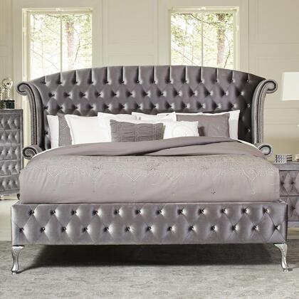 Coaster Deanna 205101KE Bed Gray, Main Image