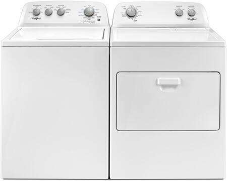 Whirlpool  874729 Washer & Dryer Set White, Laundry Pair