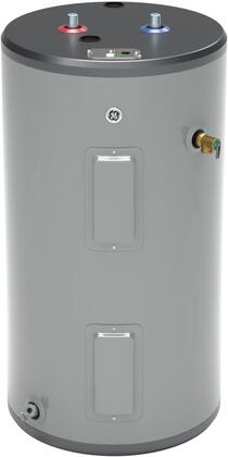 30S08BAM 30 Gallon Electric Water Heater with Two 5500 Watts Heating Elements  Inlet Tube and Anode Rod in - GE GE30S08BAM