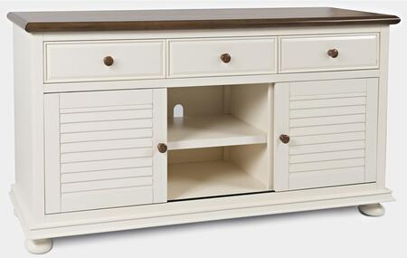 Vineyard Haven Collection 1868-60  Console – Cottage White Two Tone in Cottage White Two