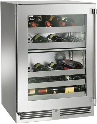 Perlick Signature HP24DS43L Wine Cooler 26-50 Bottles Stainless Steel, Main Image
