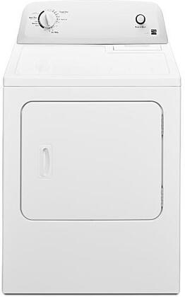 60222 29″ Electric Dryer with 6.5 cu. ft. Capacity  4 Dryness Levels  Wrinkle Guard  Auto and Air Dry  Reversible Door  Powder Coated Drum  in