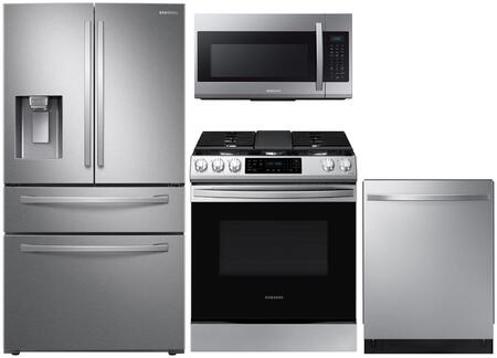 Samsung  1130937 Kitchen Appliance Package Stainless Steel, main image
