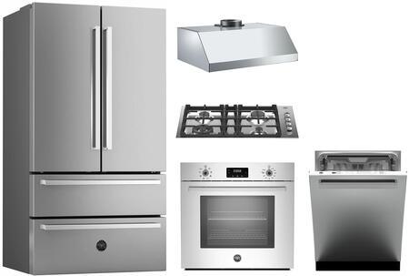 Bertazzoni 1054788 Kitchen Appliance Package & Bundle Stainless Steel, main image