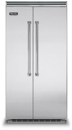 Viking 5 Series VCSB5423SS Side-By-Side Refrigerator Stainless Steel, In Stainless Steel