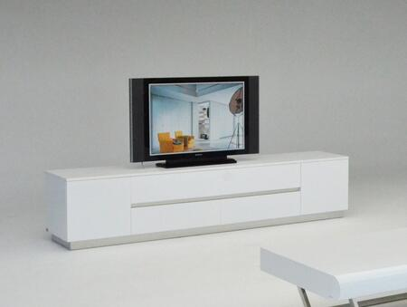 VIG Furniture A & X Skyline VGUNAK588230 52 in. and Up TV Stand White, axtvw1 1