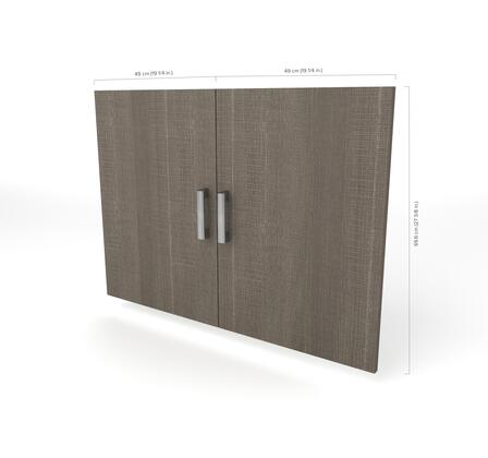 Bestar Furniture 801711147 Cabinet Hardware, bestar cielo bark gray 80171 47 dimensions