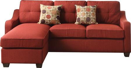 Acme Furniture Cleavon II 53740 Stationary Sofa, 1