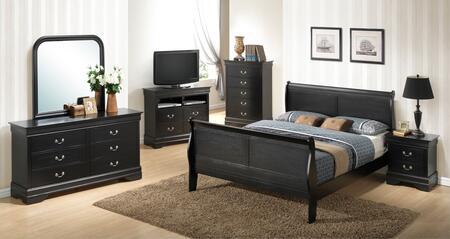 Glory Furniture 6 Piece Full Size Bedroom Set