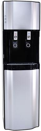International H2O H2O2500B Water Dispenser Black, H2O2500B Front View