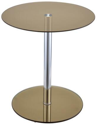 Acme Furniture Halley 81940 End Table Brown, End Table
