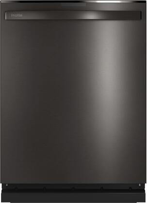 GE Profile  PDT785SBNTS Built-In Dishwasher Black Stainless Steel, Main Image