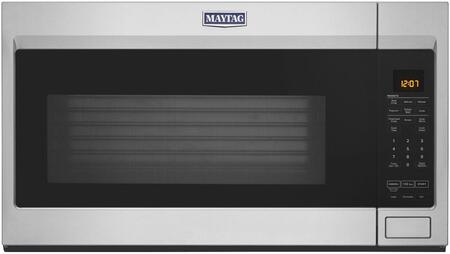 MMV4207JZ 30″ Over-the-Range Microwave with 1.9 cu. ft. Capacity  950 Watts  400 CFM  Sensor Cook and Dual Crisp Feature in Fingerprint Resistant