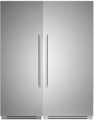 Bertazzoni  1309169 Column Refrigerator & Freezer Set Stainless Steel, 1