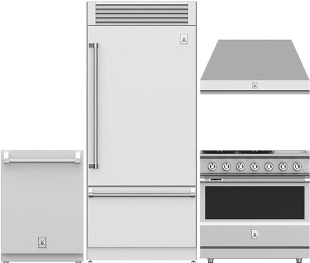 Hestan  997673 Kitchen Appliance Package Stainless Steel, main image