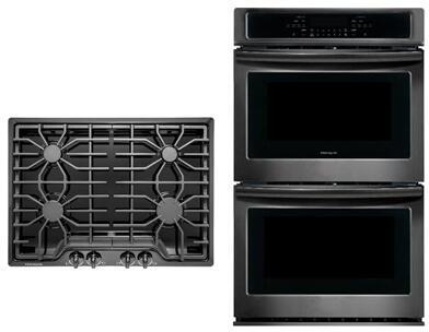 Frigidaire  850379 Kitchen Appliance Package Black, main image