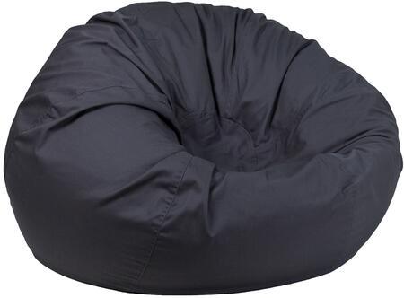 Flash Furniture DGBEAN DGBEANLARGESOLIDGYGG Bean Bag Chair Gray, DGBEANLARGESOLIDGYGG