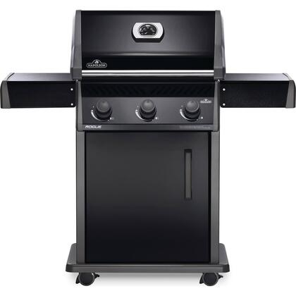 R425PK-1 51″ Rogue Series 425 Liquid Propane Freestanding Grill with 42000 BTU  570 sq. in. Cooking Area and Porcelainized Cast Iron Grids in