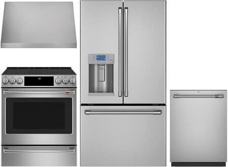 Cafe  1065303 Kitchen Appliance Package Stainless Steel, main image