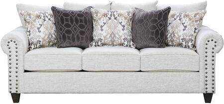 Lane Furniture Della 9175BR04QDELLALINEN Sofa Bed White, Sofa Bed