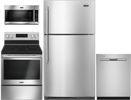 Maytag  943060 Kitchen Appliance Package Stainless Steel, main image