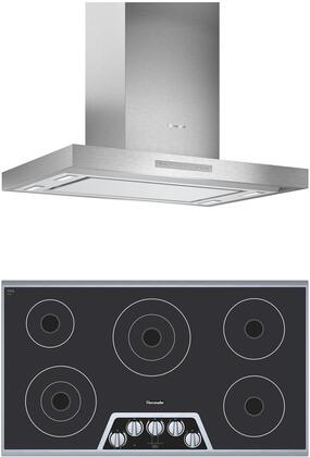 Thermador  1071304 Kitchen Appliance Package Stainless Steel, main image