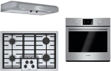 Bosch  1135507 Kitchen Appliance Package Stainless Steel, main image