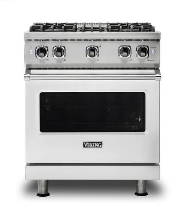 Viking Professional 5 VGR5304BSS Freestanding Gas Range Stainless Steel, Main image front view