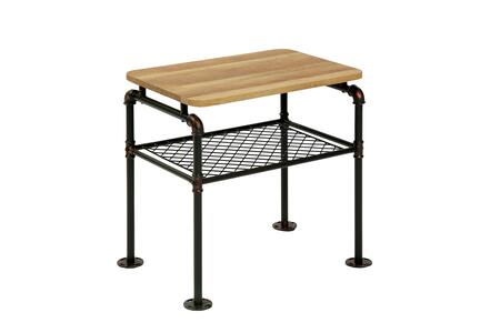Furniture of America Reagan CM4139E End Table Black, Main Image
