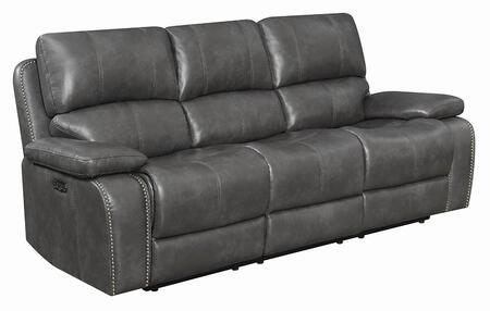 Coaster Ravenna 603211PP Motion Sofa Gray, Main Image
