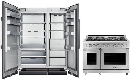 Dacor Contemporary 1291027 Kitchen Appliance Package Panel Ready, Main image
