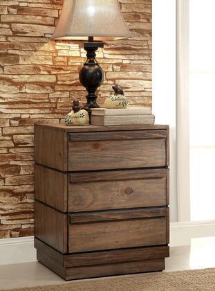 Furniture of America Coimbra CM7623N Nightstand Brown, Main View