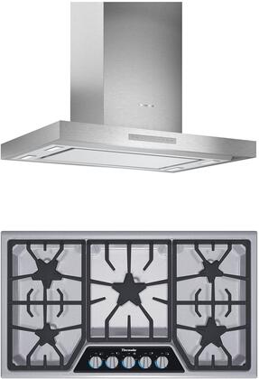 Thermador  1071246 Kitchen Appliance Package Stainless Steel, main image