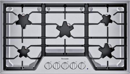 Thermador Masterpiece SGSX365TS Gas Cooktop Stainless Steel, Main Image
