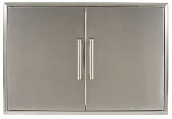 CDA2436 36″ Double Access Door with Premium Stainless Steel Construction  Professional-Style Handle  Magnetic Latches for Easy Closing  Beveled Trim