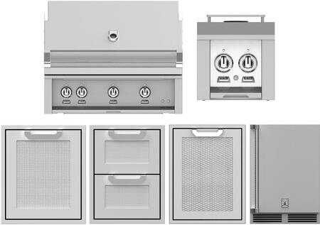 Hestan 1035149 Grill Package Stainless steel, main image
