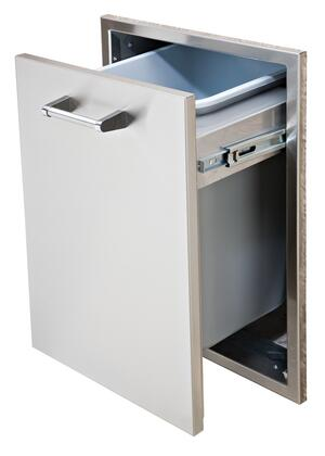 Delta Heat  DHTD18TB Trash Drawer Stainless Steel, Main Image