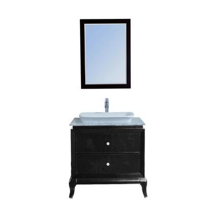 Stufurhome Lamont VM14180 Sink Vanity , 1
