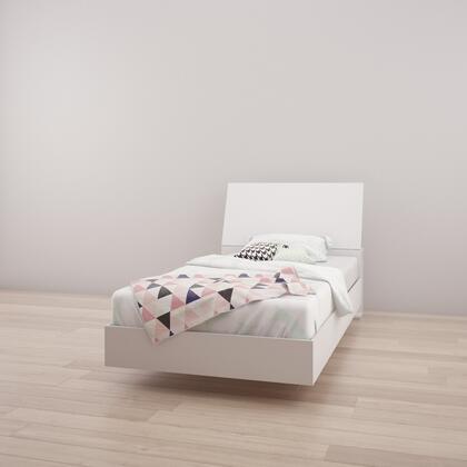 Nexera Multiple Series 400722 Bed White, Main Image