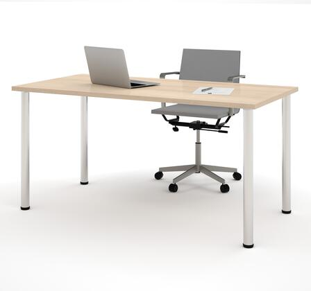 Bestar Furniture Bestar 6586238 Office Desk White, Main View