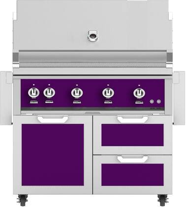 Hestan  851927 Liquid Propane Grill Purple, Main Image
