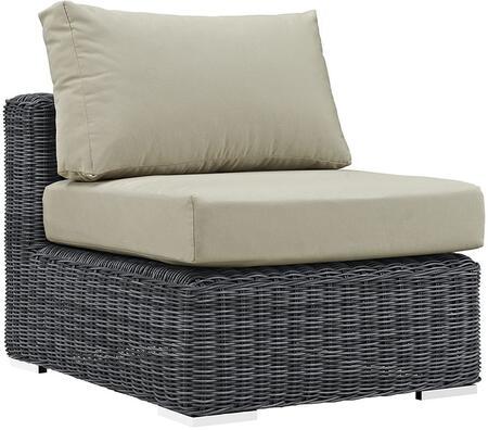 Modway Summon EEI1868GRYBEI Patio Chair Cream, Main Image