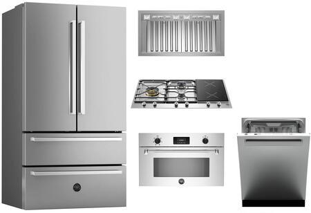 Bertazzoni 1054830 Kitchen Appliance Package & Bundle Stainless Steel, main image