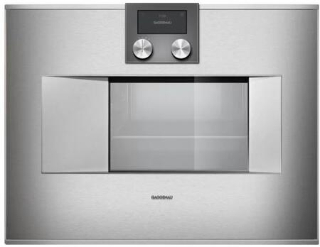 Gaggenau Deals 400 Series BS470611 Single Wall Oven Stainless Steel, BS470611 Combi Steam Oven
