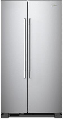 Whirlpool WRSA15SN Side-By-Side Refrigerator, 1