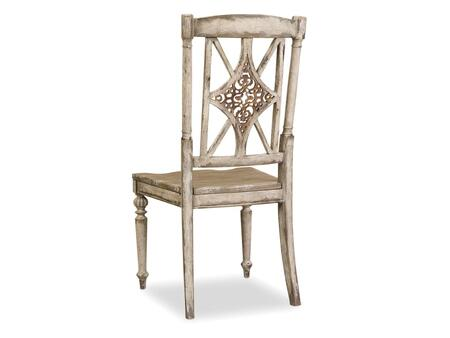 Hooker Furniture Chatelet 535175310 Dining Room Chair Beige, Chatelet Fretback Side Chair Image 1