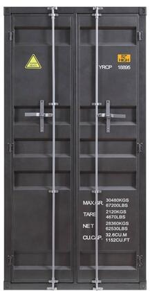 Acme Furniture Cargo 37899 Wardrobe Gray, Main Image